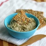 This vegan and gluten free white bean and dill dip is both filling and flavorful!