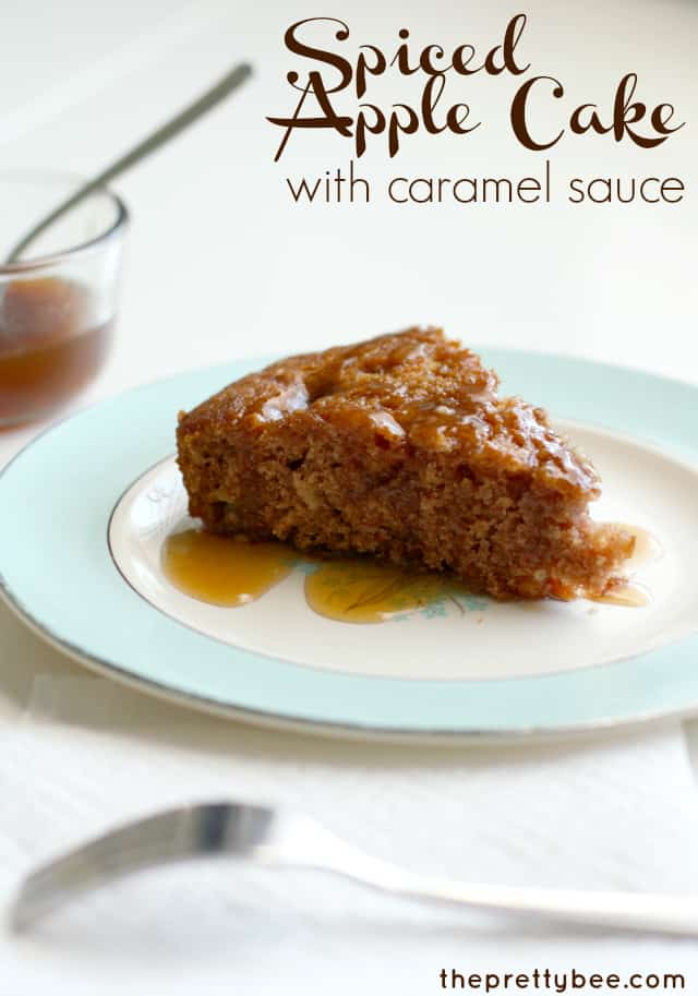 ... cake spiced apple cider spiced apple cake with eggnog sauce recipe