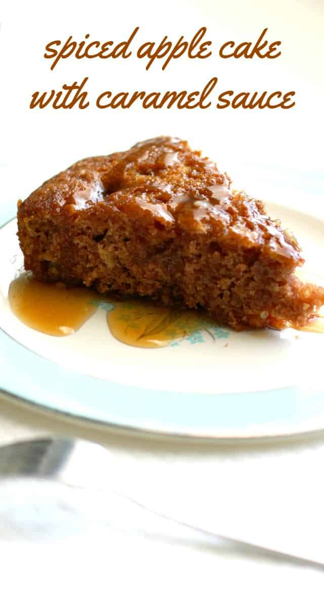 Autumn Apple Spice Cake