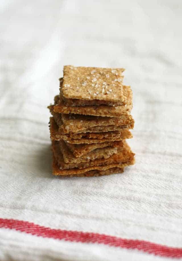whole grain vegan cracker recipe