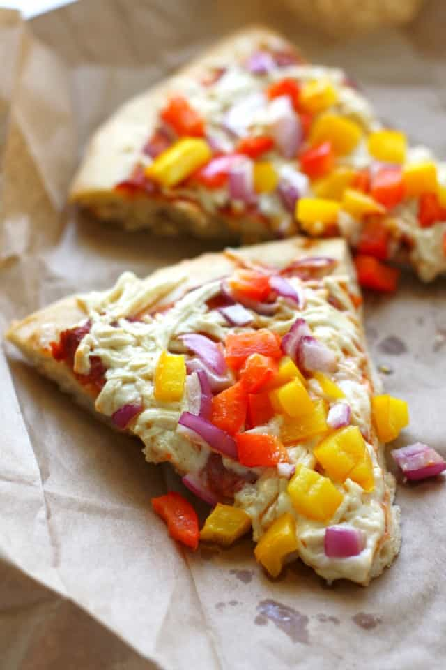 easy vegan pizza recipe
