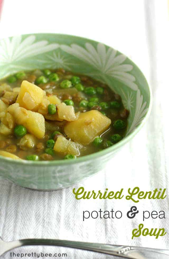 curried lentil potato soup
