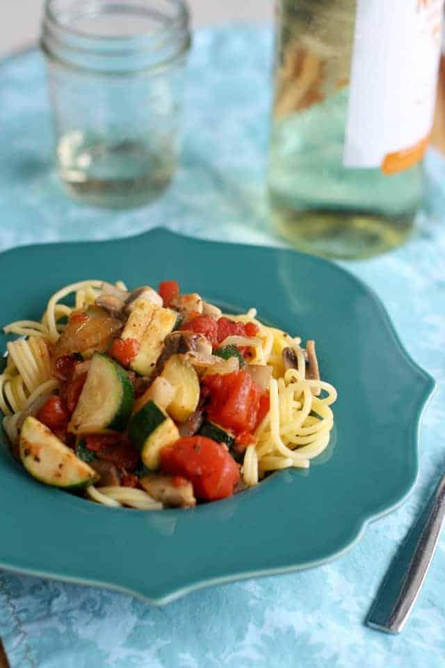 spicy veggie pasta sauce