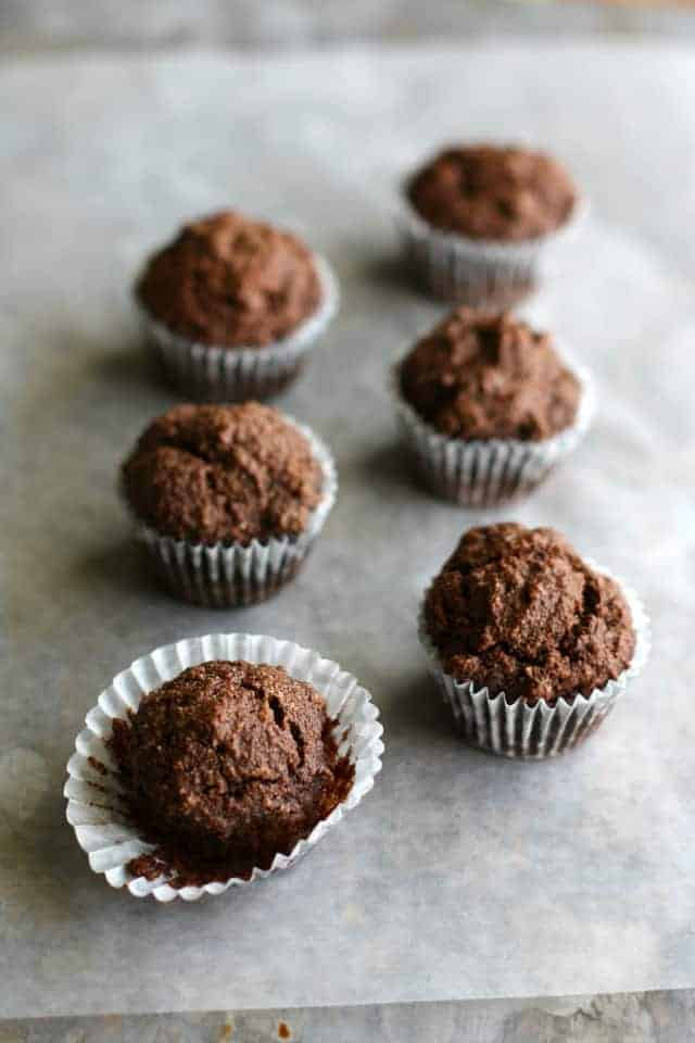vegan paleo chocolate muffin recipe