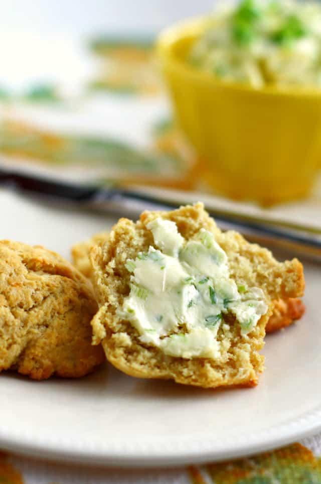 green onion garlic butter