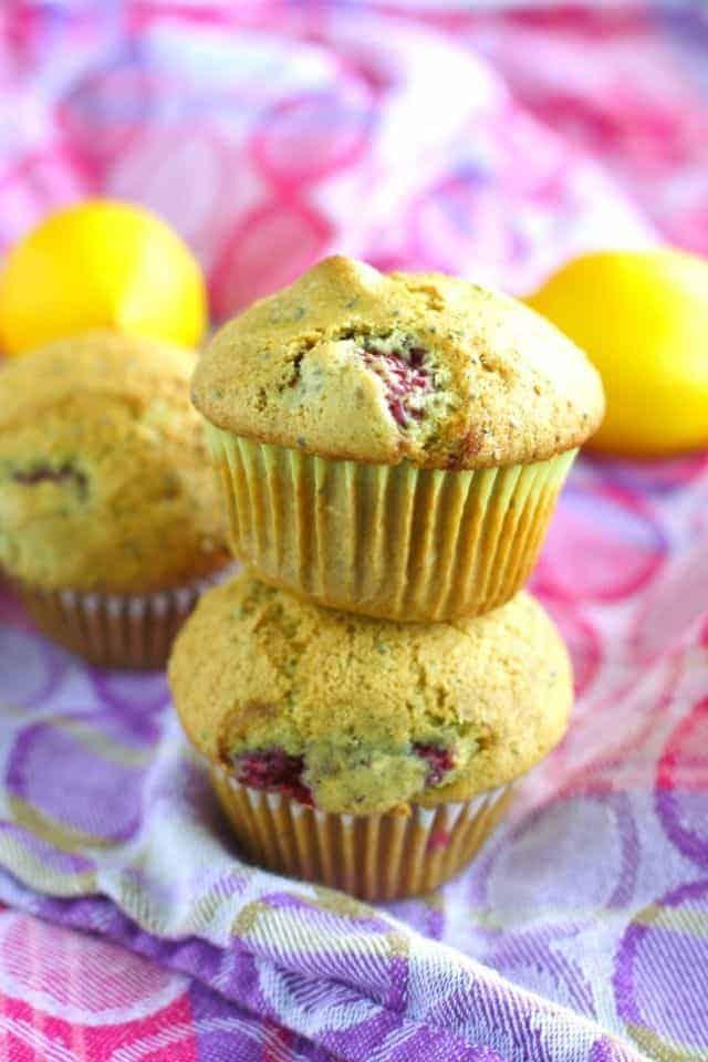 vegan chia seed muffins