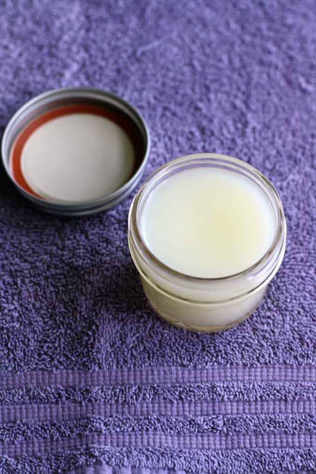 It's so easy to make your own lotion with all natural ingredients! Customize it with your favorite fragrance.