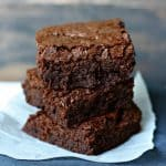 The Best Gluten Free Brownies.