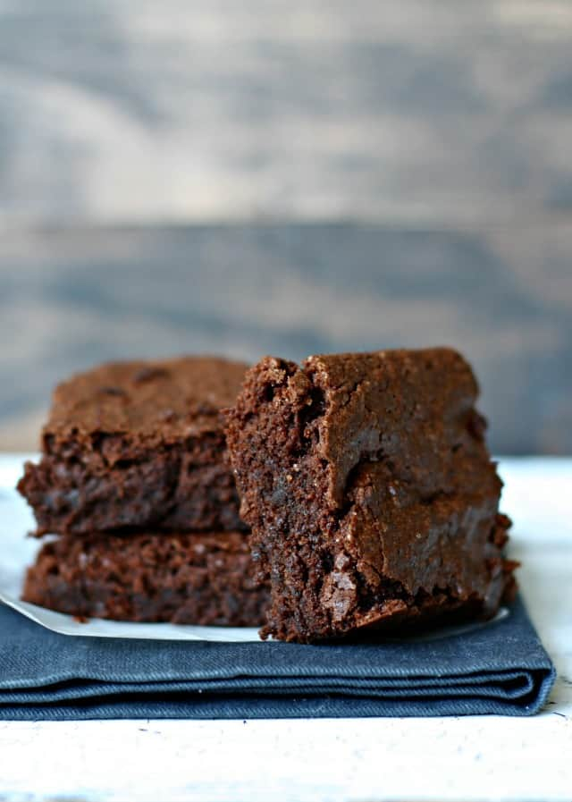 easy fudgy gluten free brownie recipe