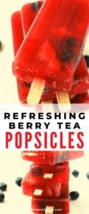 tea popsicles