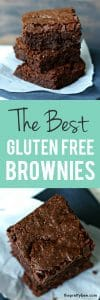 Gluten free brownie recipe - one bowl