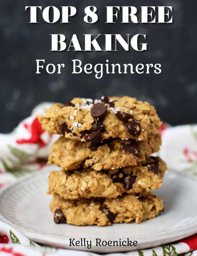 top 8 free baking ebook cover