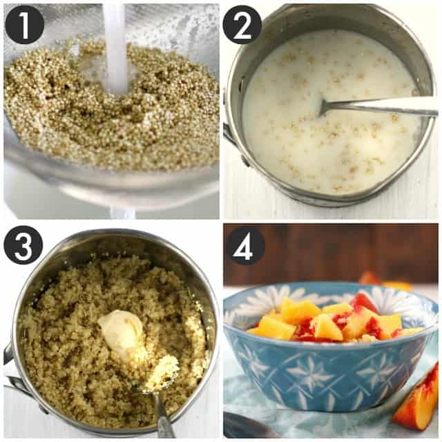 how to make breakfast quinoa
