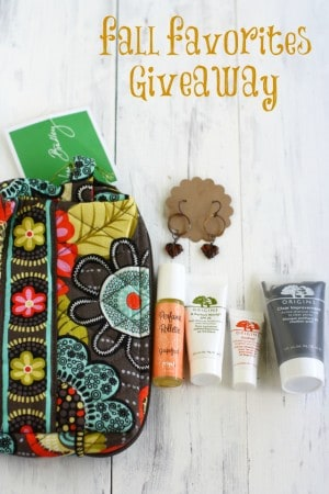 Fall Favorites Giveaway!