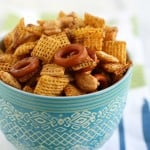 Vegan chex mix recipe...so addicting!