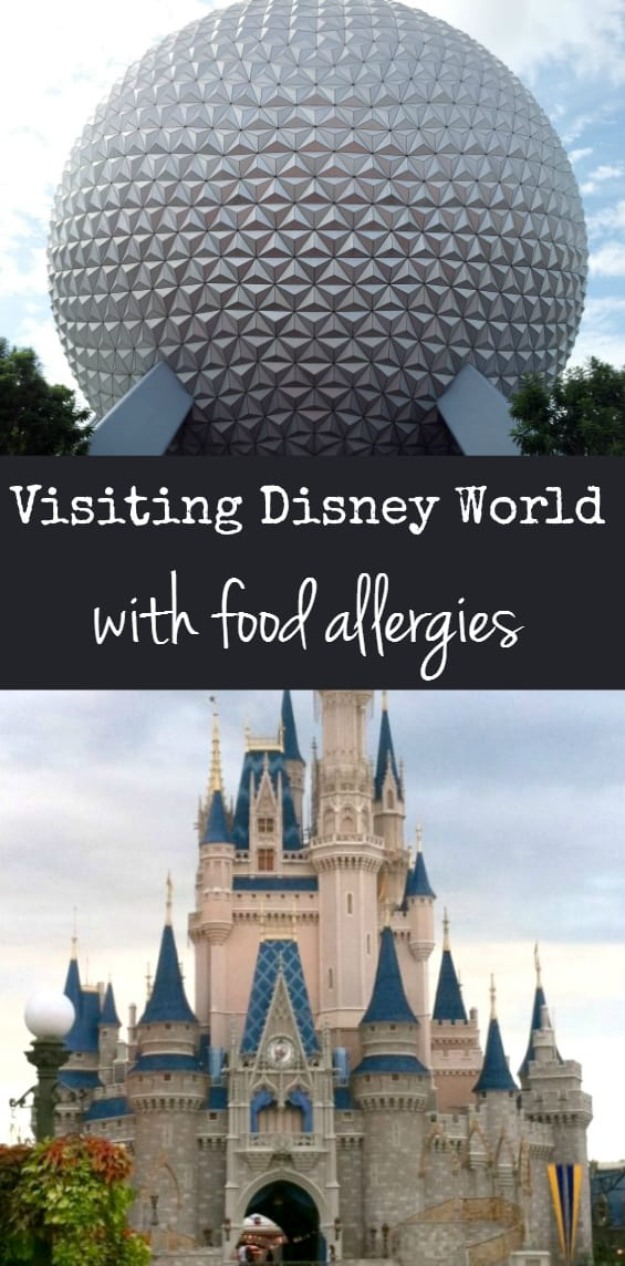 Tips and tricks for visiting Walt Disney World with food allergies. #foodallergy