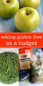 Eating a gluten free diet does NOT have to break the bank! Tips and tricks to save money while eating gluten free. #glutenfree