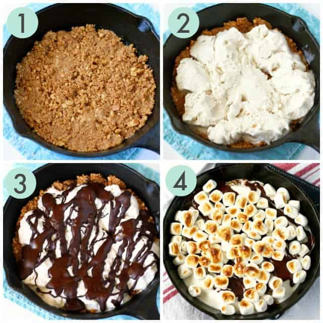 how to make smores pie