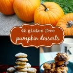 45 gluten free pumpkin dessert recipes