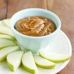 Easy almond apple dip recipe. Everyone loves this tasty dip - it's great for a snack or dessert!