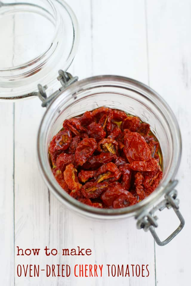 how to make oven-dried tomatoes