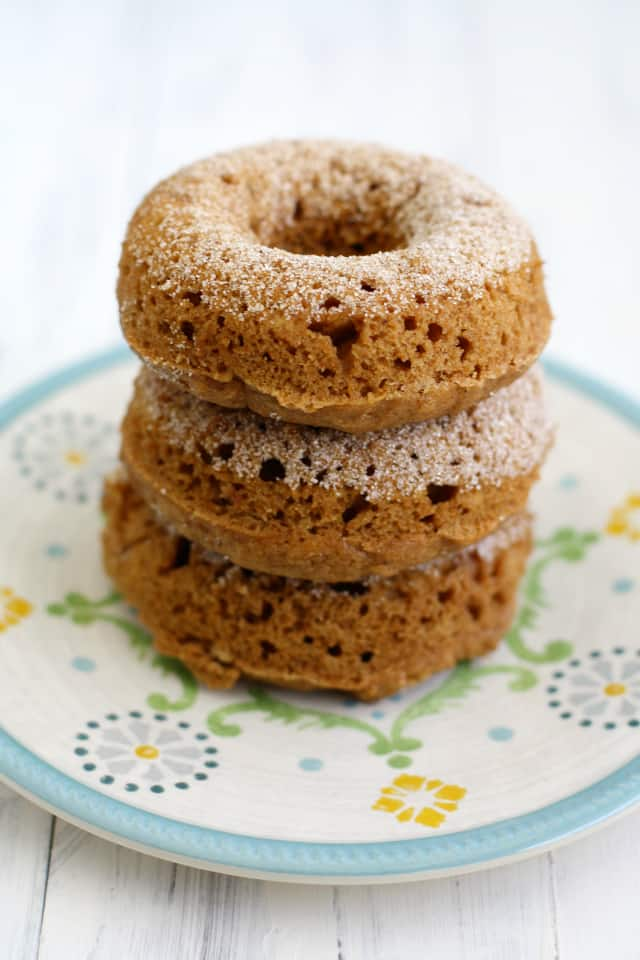 stack of homemade cider mill donuts