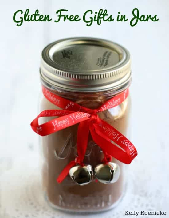 Gluten Free Gifts in Jars is a new ebook available this holiday season from The Pretty Bee.