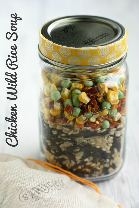 Chicken and Wild Rice Soup from Gluten Free Gifts in Jars by Kelly Roenicke