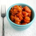 Easy Brown Sugar Glazed Carrots.