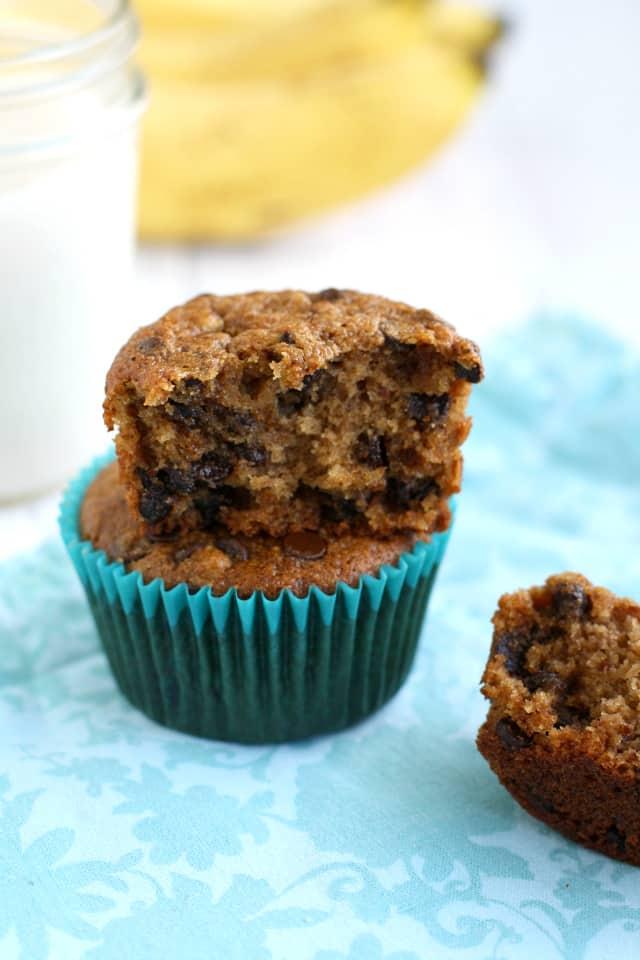 vegan banana muffin recipe