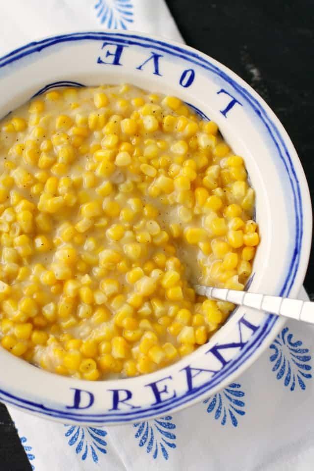 gluten free vegan creamed corn