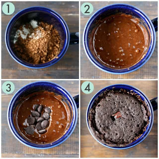 how to make a gluten free mug cake