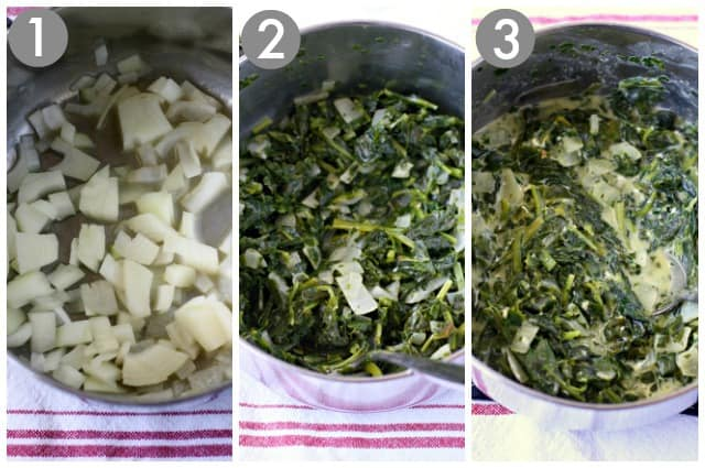 how to make vegan creamed spinach