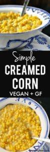 simple creamed corn
