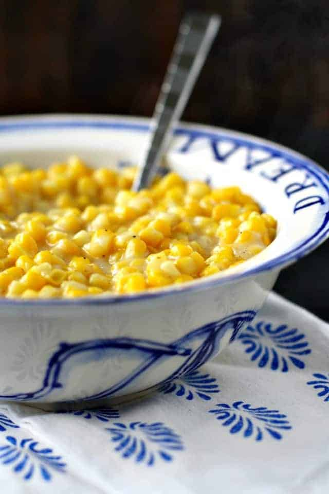 vegan creamed corn