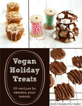 Vegan Holiday Treats revised ebook by Kelly Roenicke