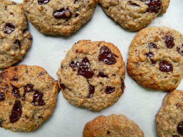 Almond-Butter-Chocolate-Chip-Cookies-@cearaskitchen-glutenfree-vegan ...