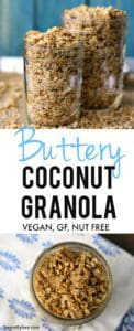 butter coconut granola recipe