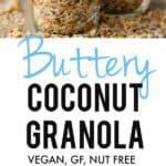 butter coconut granola recipe