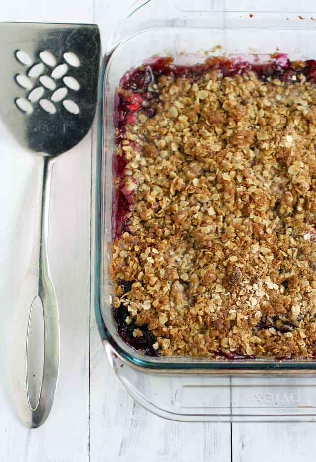 Gluten free cranberry blueberry crisp recipe - this is such an easy ...