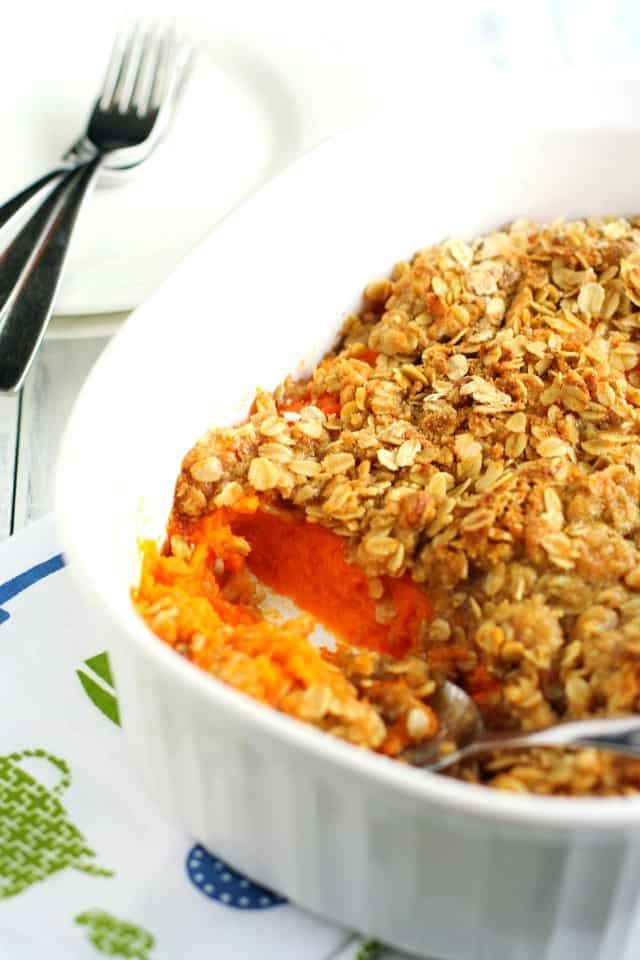 nut free vegan sweet potato casserole recipe