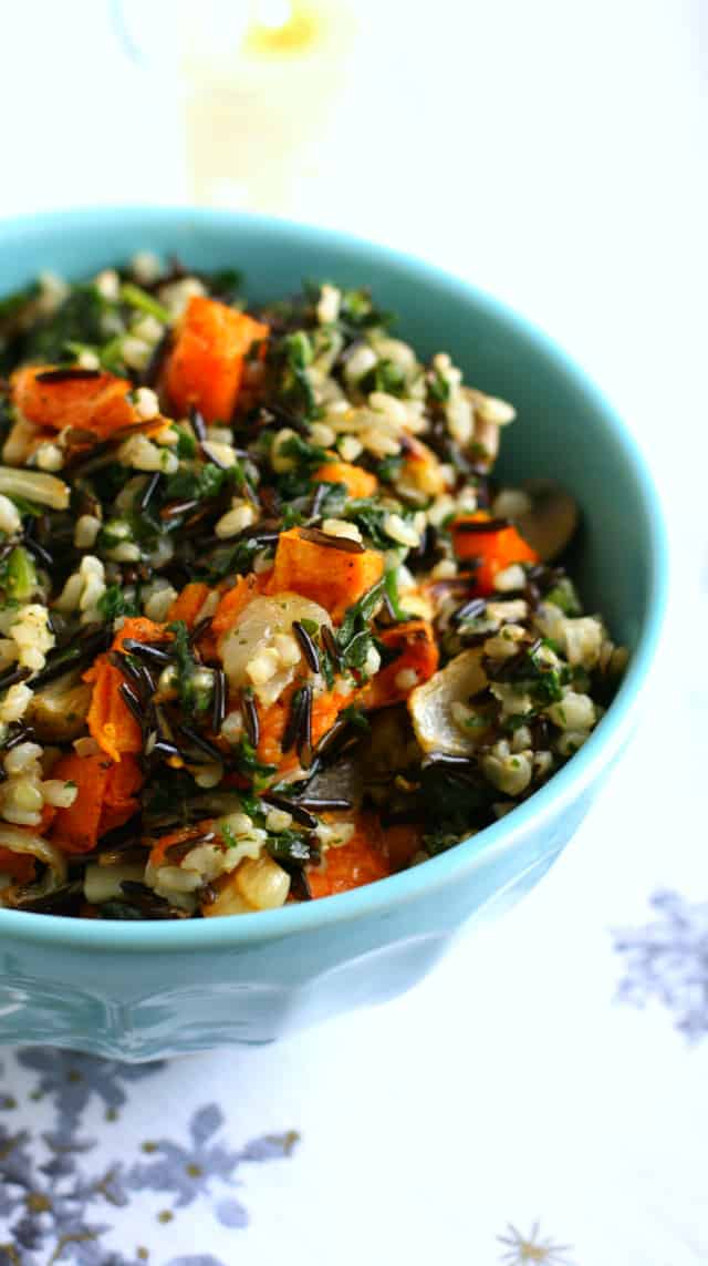 vegan wild rice stuffing