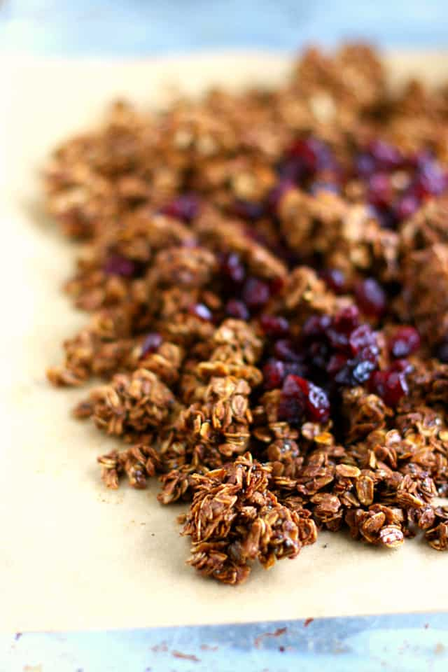 easy baked granola recipe