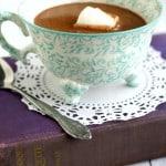 Decadent Coconut Cream Hot Chocolate.