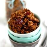 Gingerbread Spice Granola.