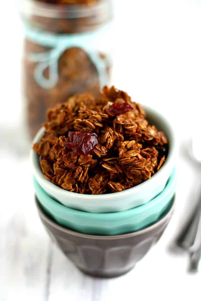 granola sweetened with agave