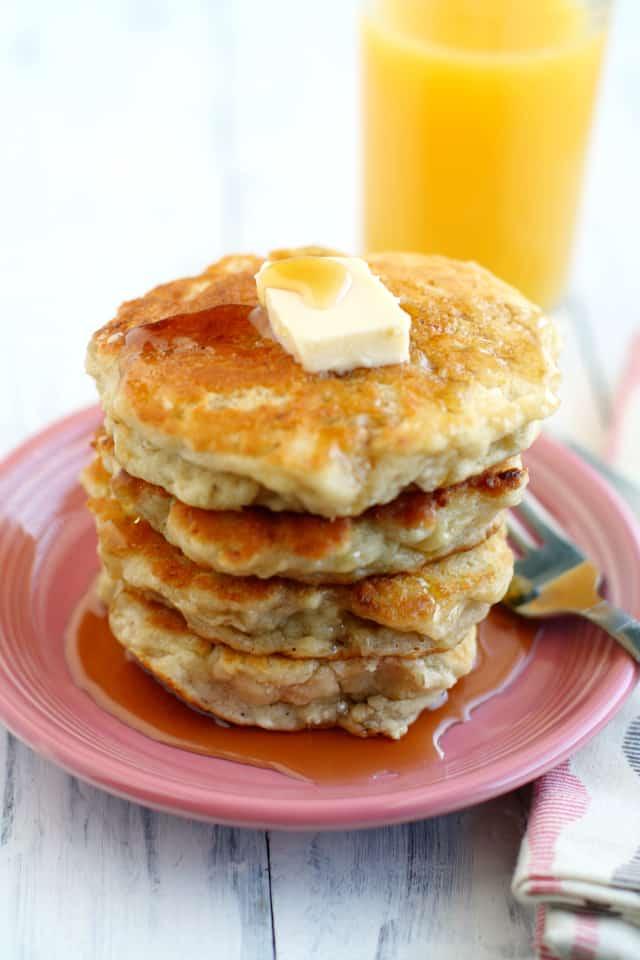 dairy free banana pancake recipe