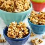 An easy and delicious recipe for vegan and nut free caramel corn.