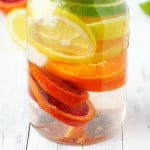 Refreshing citrus infused water is a great drink t osip on throughout the day!