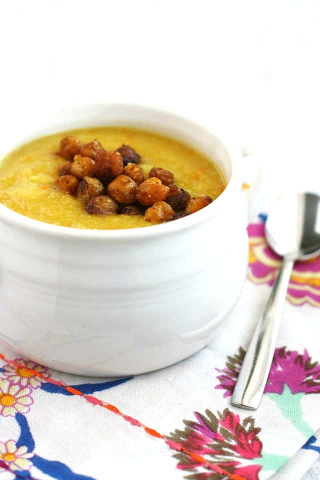 creamy cauliflower carrot soup